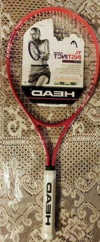 Head Unsex INSTINCT 21, Blue Tennis Racket 4 1/4 - 2 Adult
