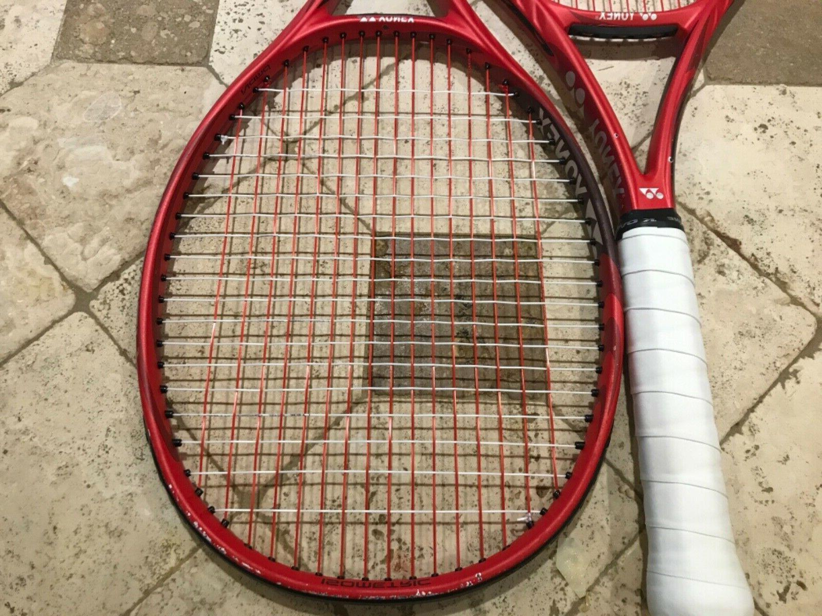 Up VCORE Red Racquets Rackets 4 3/8""