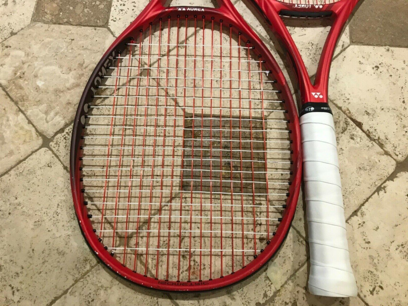 Up to VCORE 98 Red Racquets Rackets