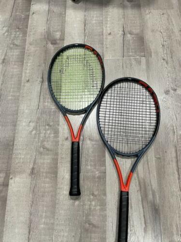 used graphene radical mp tennis racket very
