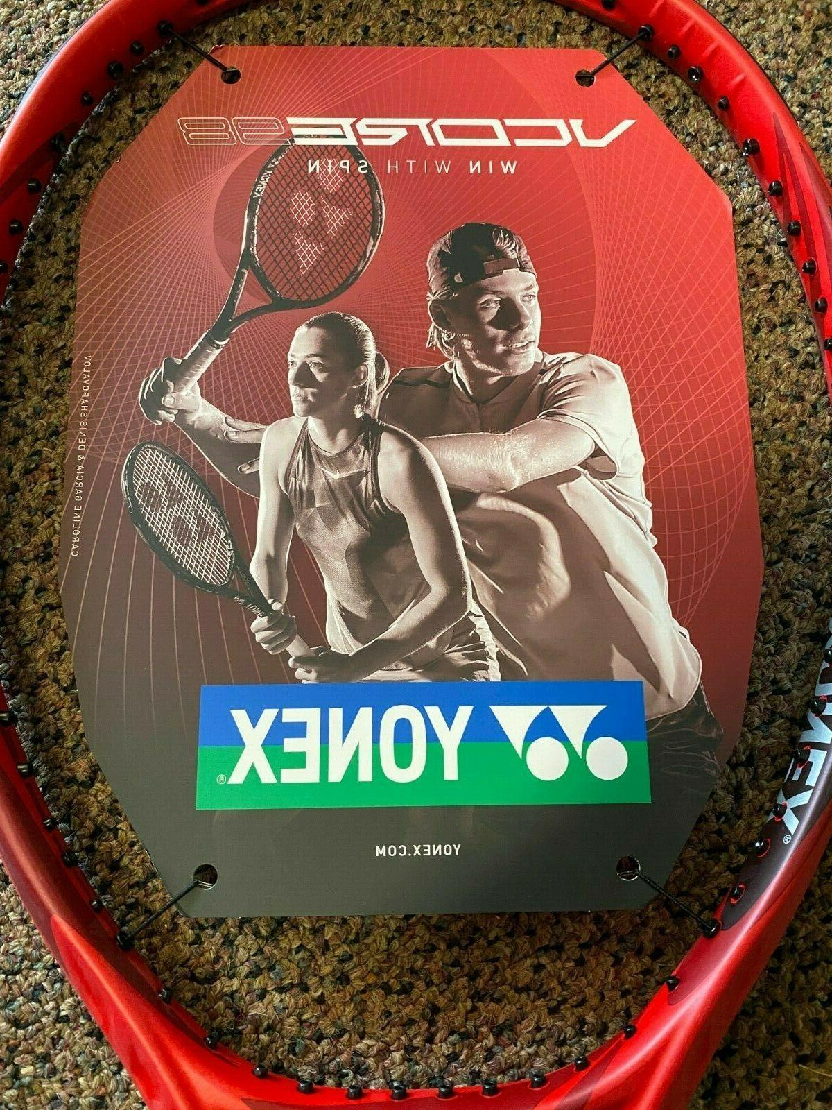 Yonex VCore 98 Tennis Racquet 3/8 New