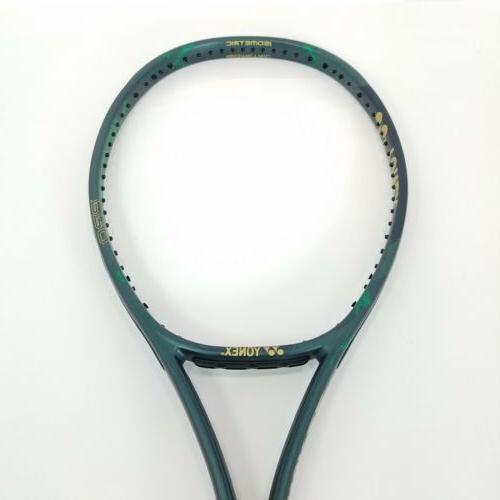 Yonex Pro 290g 16x19 Tennis Grip Matte Green Demo
