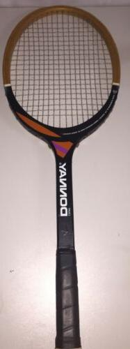 vintage court tennis racket