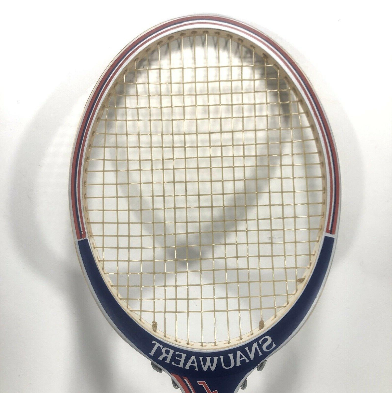 Vintage Autograph - 4 2/8 Grip Wood Racket