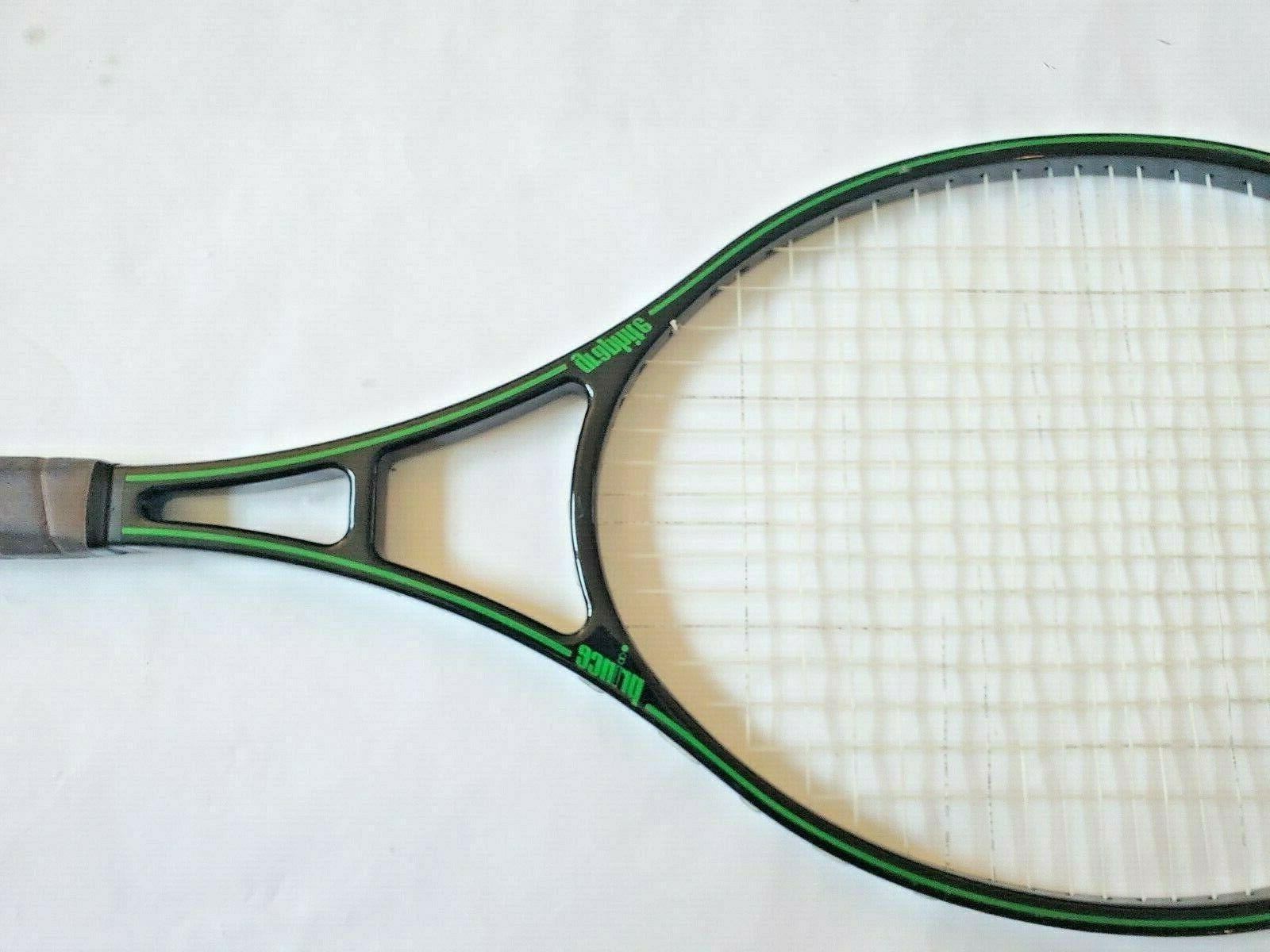 Vtg Prince Graphite Black & Racquet Grip 4