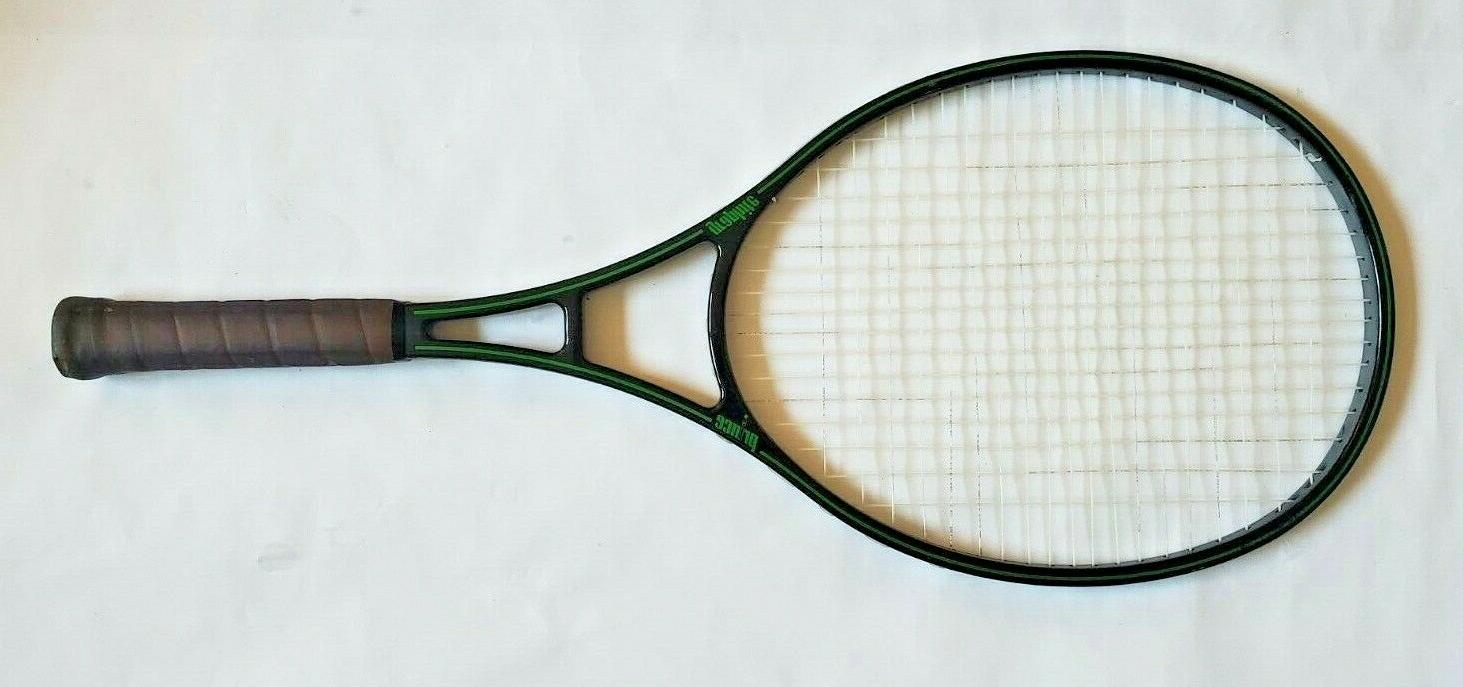 Vtg Black Green Tennis Racquet Grip 4