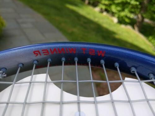 "Donnay Winner Racket Raquet 3/8"""