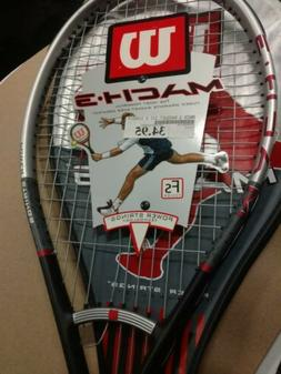 Wilson Mach 3 Tennis Racket. Brand New With Broken String. I