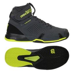 Wilson Men AMPLI FEEL Tennis Shoes Running Gray Racket Sneak