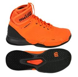 Wilson Men AMPLI FEEL Tennis Shoes Running Orange Racket Sne