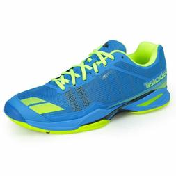 Babolat Men's Tennis Shoes Jet Team All Court Blue Yellow Ra
