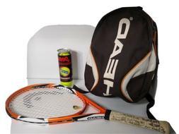 Head MicroGel MG.12 OS Strung Oversize  - Tennis Racket w/ b