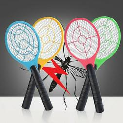 Mosquito Killer Electric Tennis Bat Handheld Racket Insect F