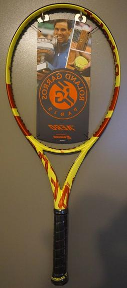New 2019 Babolat Pure Aero Roland Garros Tennis Racquet Nada