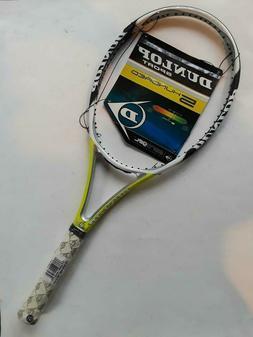 New Dunlop AeroGel 500 tennis racquet,100 head,16 X 18 patte
