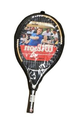 "New Wilson Blade 23 Tennis Racquet Grip Size 3 5/8"" with Cas"