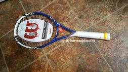 New Wilson Four BLX Four 105 Basalt MP tennis racket prestru