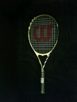 "NEW Wilson FUSION XL VMatrix 4 3/8 "" Grip Tennis Racquet"