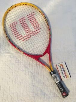NEW! Wilson Junior US Open Titanium Tennis Racquet Racket 23