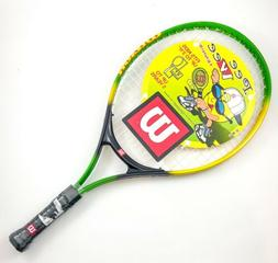 """NEW Wilson Pee Wee 21"""" Tennis Racket 3 5/8"""" Grip - Up to 5"""