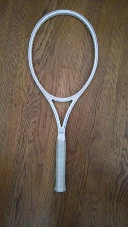 NEW rare YAMAHA WHITE GOLD 100 tennis racket