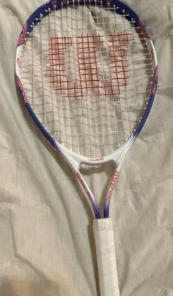 "New Wilson Serena 23"" Tennis Racket PURPLE Youth"