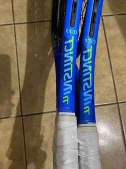 New Head Ti. Instinct Comp Titanium Technology Tennis Racque