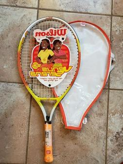 NEW Wilson Youth Tennis Racket Venus and Serena Williams wit