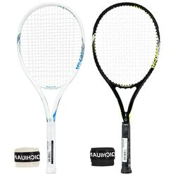 One Piece Full Carbon Graphite Tennis Racket with Bag Grip A