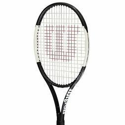 Wilson Pro Staff 26 Tennis Racket Junior Black/White Graphit