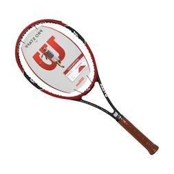 Wilson Pro Staff 97 Federer Tennis Racquet 4 3/8 Inches Red/
