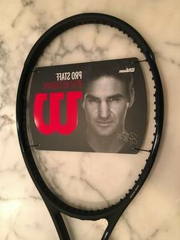 Wilson Pro Staff RF97 Tennis Racquet, pre V13,  Black 3/8 gr