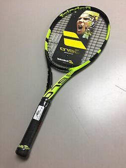 BABOLAT PURE AERO Strung 2017 New Graphite Racquet 4-1/2 gri
