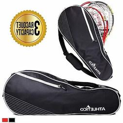 Athletico Racquet Tennis Bag   for Men, Women, Youth and Adu