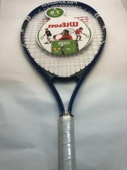"""Wilson Roger Federer 23"""" Youth Tennis Racket 3-5/8"""" Blue/G"""