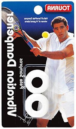 Tourna Sampras White Vibration Tennis Dampener