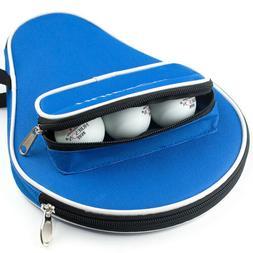 Single Table Tennis Racket Cases Ping Pong Paddles Bat Bag W