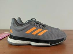 Adidas SoleCourt Boost Men's Tennis Shoes Gray Racket Racket