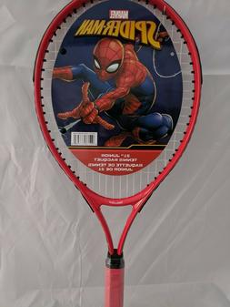 Marvel Spiderman Junior Tennis Racquet Racket Sports Kids 21
