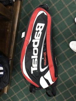Babolat Team Tennis Racket Gear Shoulder Bag Red/Black 6 Pac