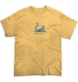 Life is Crap Tennis Ball Racket Funny Shirt Cool Gift Idea C