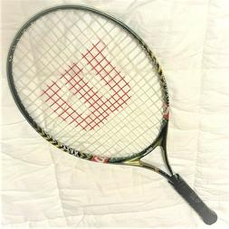 WILSON TENNIS RACKET ADULT RAK ATTACK 25 INCHES LENGTH GRIP