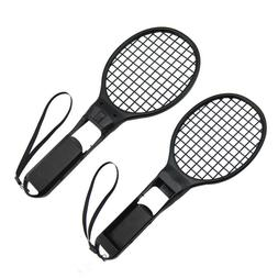 Tennis racket attachment for Nintendo Switch - 2 pack black