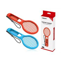 Finera Tennis Racket for Nintendo Switch,2 Packs for Mario T