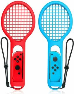 Tennis Racket for Nintendo Switch Controller Twin Pack Grips