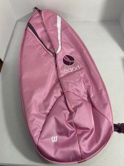 Wilson Tennis Racket Shoulder Bag Breast Cancer Awareness Ho