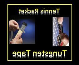 tennis racket tungsten tape composite power balance
