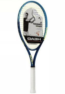 HEAD Ti. Conquest Tennis Racket Pre-Strung Head Light Balanc