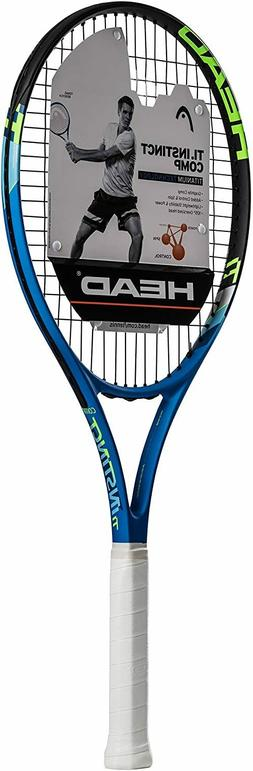 HEAD Ti.Instinct Comp Tennis Racquet , Strung