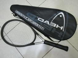 "Head Ti.S6 Titanium Xtralong Tennis Racquet 4 1/2""  Great Co"